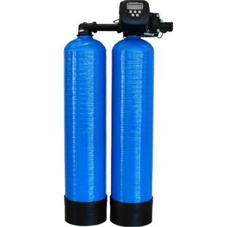 Duplex Commercial Water Softener 50-litre