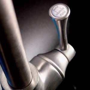 Abode Gosford Aquifier 3-Way Tap Brushed Nickel