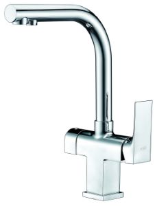 Sora 3-Way Kitchen Filter Tap Chrome