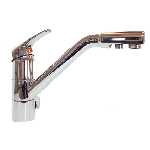 Cosmo Monobloc 3-Way Kitchen Filter Tap Chrome