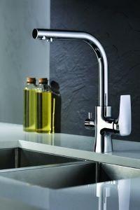 Tivoli 3-Way Kitchen Filter Tap Chrome Doulton Ecofast Drinking Water System