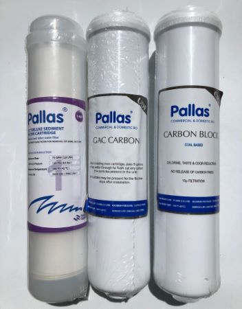 Pallas Enjoy Smart/Cool Reverse Osmosis 6 Month Replacement Filter Set