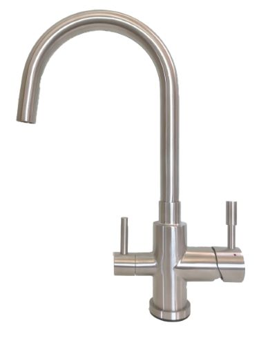 Palmira 3-Way Kitchen Filter Tap Stainless Steel