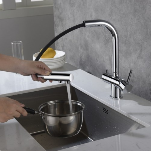 3-Way Kitchen Water Filter Taps