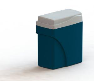 Pallas NENE Simplex Non-Electric Water Softener & 15mm Standard Install Kit 1000mm Hoses
