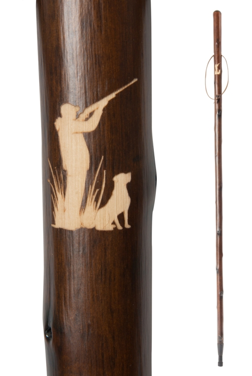 Chestnut Hiking Stave - Shooter & Gundog