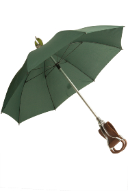 Walking Stick Umbrella with Leather Seat