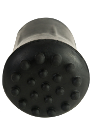 Black Rubber Ferrule RFC25 - 25mm - 1