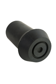 Black Rubber Ferrule - RFD13 - 13mm - 1/2