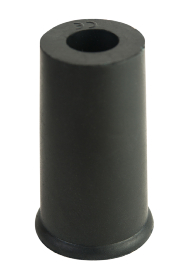 Black Rubber Ferrule RFA10 - 10mm - 3/8