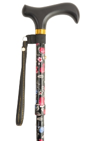 Shorter Folding Walking Stick - Fruits