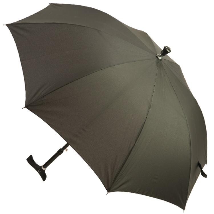Black Walking Stick Umbrella