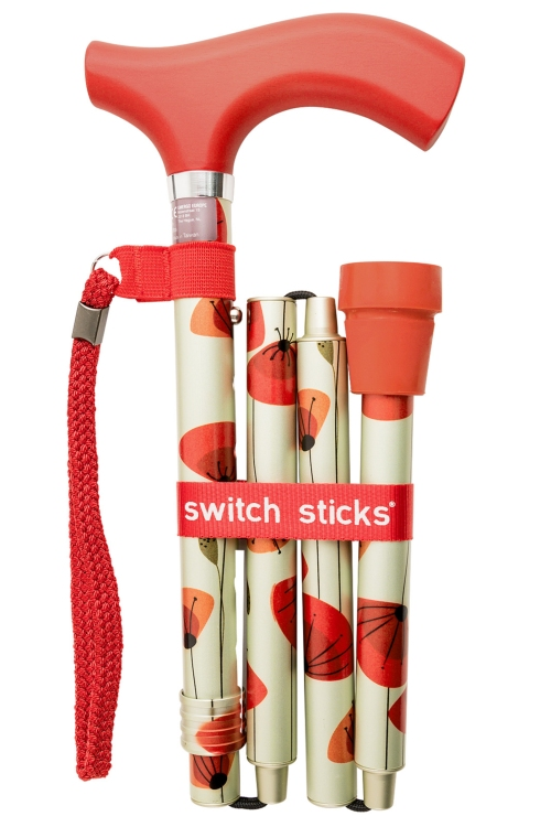 Luxury Poppies Switch Stick