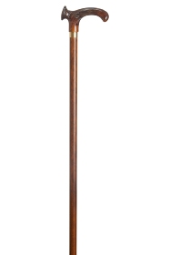 Amber Relax Grip Orthopaedic Walking Stick - Right Hand