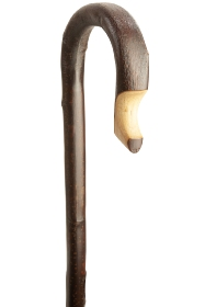 Chestnut Shepherd's Crook - Dark Brown