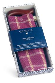 Blue Badge Co - Purple Folding Walking Stick & Highland Heather Bag