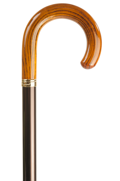 Adjustable Crook Handled Walking Stick