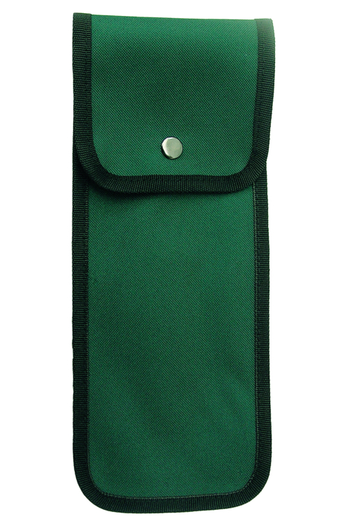 Green Pouch for Folding Sticks