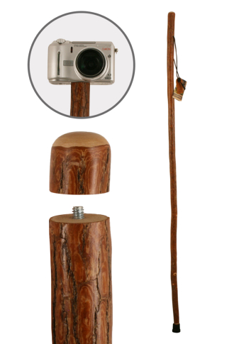 Brazos Freeform Sassafras Photographer's Monopod Hiking Stick