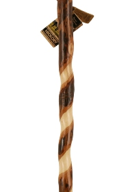 Brazos Twisted Hickory Handcrafted Hiking Stick