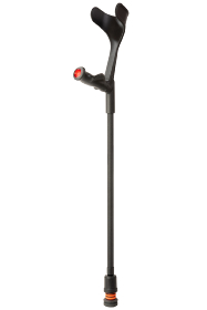 Flexyfoot Anatomical Handled Open Cuff Adjustable Crutch - Right