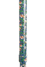 Deluxe Folding Walking Cane With Wooden Handle - Morris Pattern