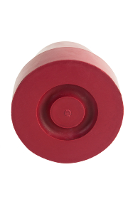 Red 15mm Rubber Ferrule - RF80-RED