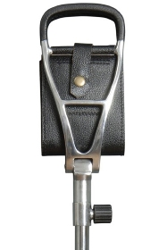 Polo Black Leather Adjustable Seat Stick