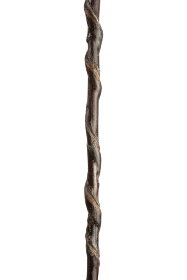 Natural Twisted Chestnut Staghorn Thumbstick (155cm length)