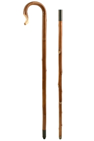 Chestnut Shepherd's Crook,Two Piece, Jointed, Extra Long