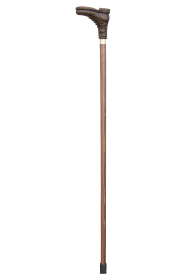 Brown Boot Collectors Cane