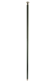 Classic Silver Plate Knob Handle Walking Stick