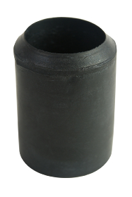 Black Rubber Ferrule RFA22 - 22mm - 7/8