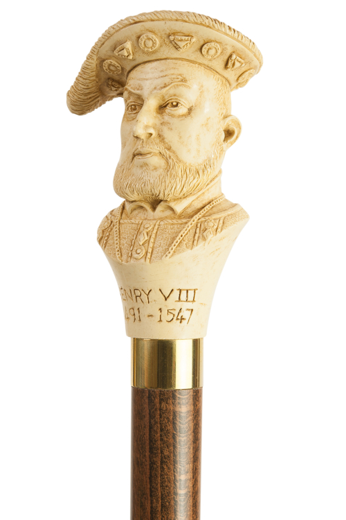 Henry VIII Moulded Top Collectors Stick