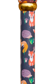Animal Friends Derby Adjustable Walking Stick - Forest Creatures