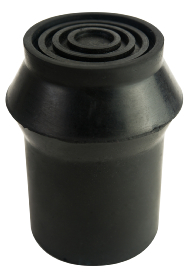 Black Rubber Ferrule - RFD25 - 25mm - 1