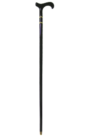 Bijoux Derby Walking Stick - Black
