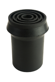 Black Rubber Ferrule - RFD19 - 19mm - 3/4