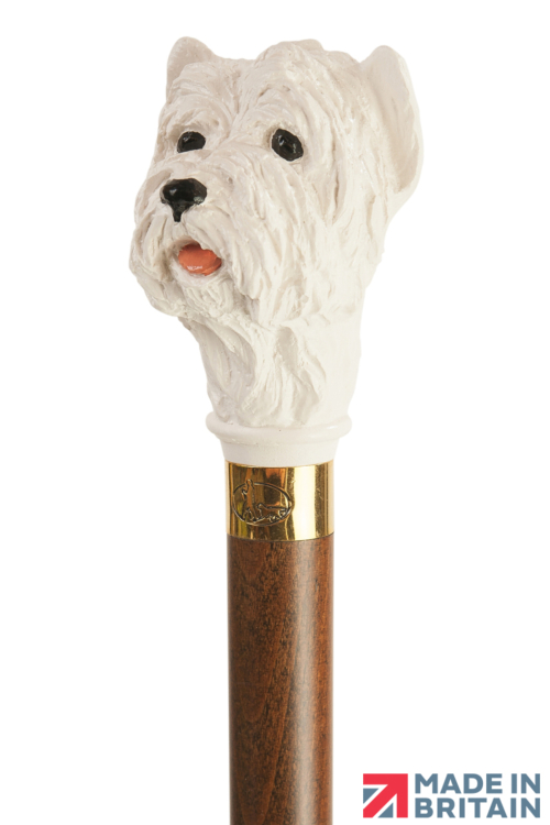 West Highland Terrier Collectors Cane