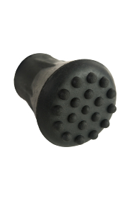 Black Rubber Ferrule RFC12 - 12mm - 1/2""