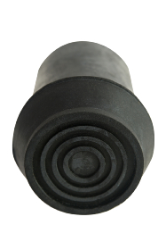 Black Rubber Ferrule - RFD22 - 22mm - 7/8