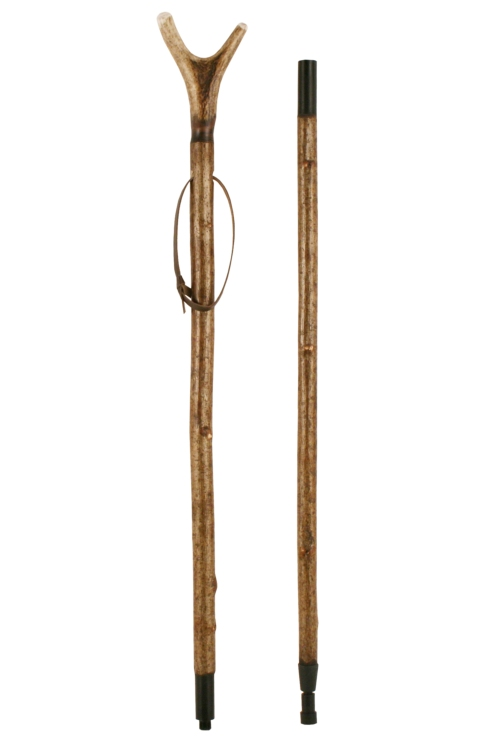 Staghorn Hazel Thumbstick, Two Piece, Jointed, Extra Long