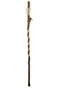 Brazos Twisted Sweet Gum Handcrafted Hiking Stick