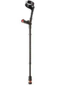 Flexyfoot Anatomical Handled Closed Cuff Adjustable Crutch - Right