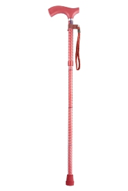 Soiree Folding Walking Stick from Switch Sticks - Ruby