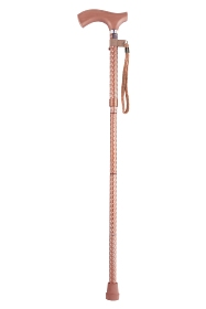 Soiree Folding Walking Stick from Switch Sticks - Rose Gold
