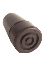 Brown Rubber Ferrule - RF19 - 19mm