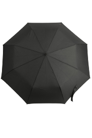 M&P Black Sport Handled Gents Auto Open & Close Folding Umbrella