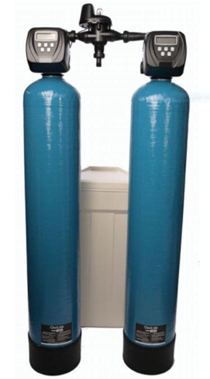 Duplex Commercial Water Softener 150-litre (1.5 inch) Flow 6 M3/HR Capacity 25 M3