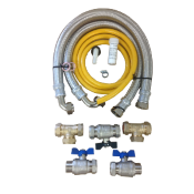 Water Softener Installation Kits & Stainless Steel Hoses
